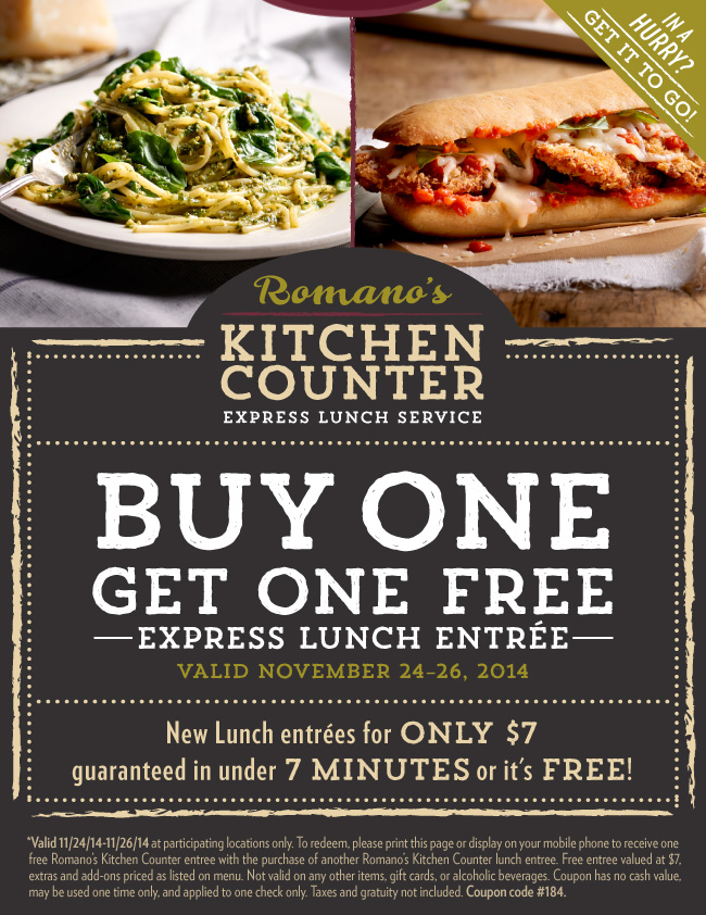 Macaroni Grill Coupon April 2019 Second lunch free at Macaroni Grill