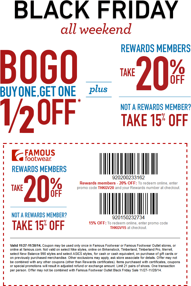 picture regarding Famous Footwear Printable Coupons in Store named Popular shoes coupon code december 2018 / Bjs coupon reserve